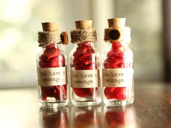 Bottles with Customized messages, Ideal for gifting.