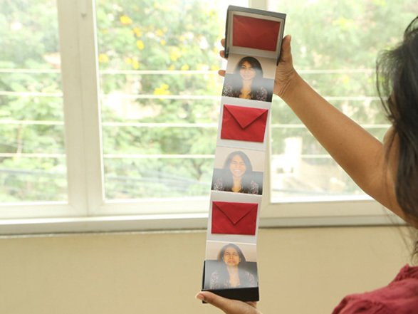 Surprise gift box with photos