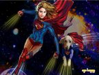 Gift a superhero illustration