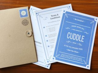 Love Contract Makes Gift For Boyfriend Or Birthday Surprise Ideas