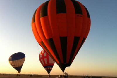 Proposal in Hot Air Balloon