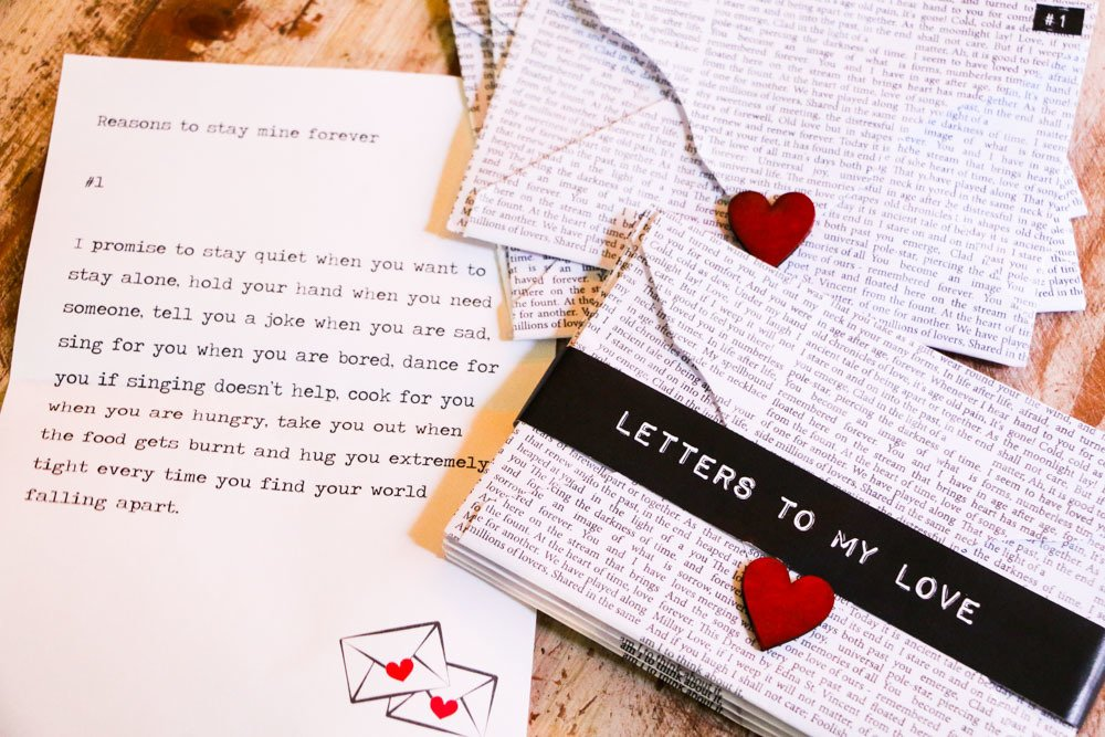 Letters to my Love | Best Birthday, Anniversary, Courtship period, Just  like that, Wedding, Proposal, Honeymoon gift and surprise in India |  Surprise