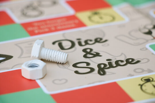 Naughty board game for couple