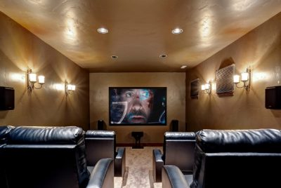 Movie Screening in Luxury