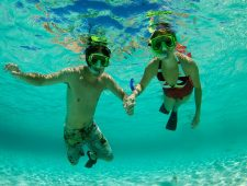 Snorkelling for 2