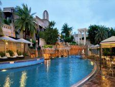 Poolside in Pune