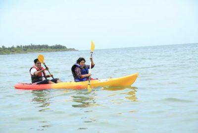 Kayaking for 2