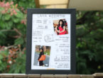All about you customised photo frame for birthday