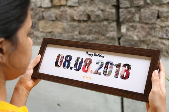 Customised date frame