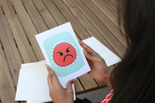 funny and Smiley emoji greeting cards