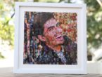 Customized Mosaic art in photo frame