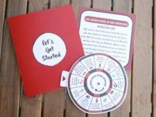 Naughty Spinwheel Magnet