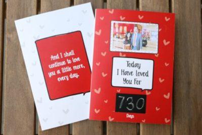 Love Milestone Card