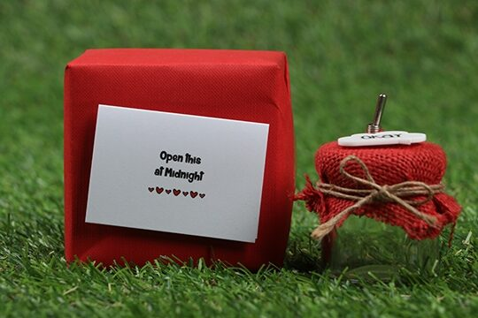 Romantic surprise hamper