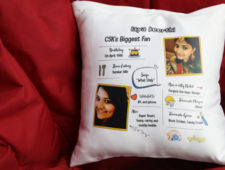 CSK Happy Cushion