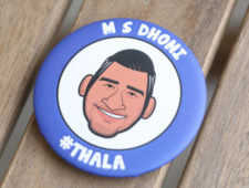 Dhoni Badge Edition