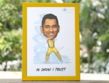 Dhoni Frame Edition