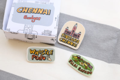Chennai Badges
