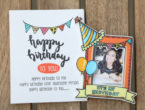 Birthday special Fridge magnet personalised with pictures