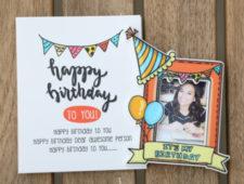 Custom Birthday Magnet
