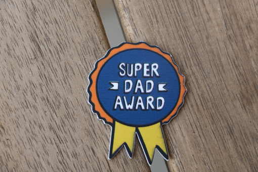 Super Dad Award Best Father S Day Gift And Surprise In