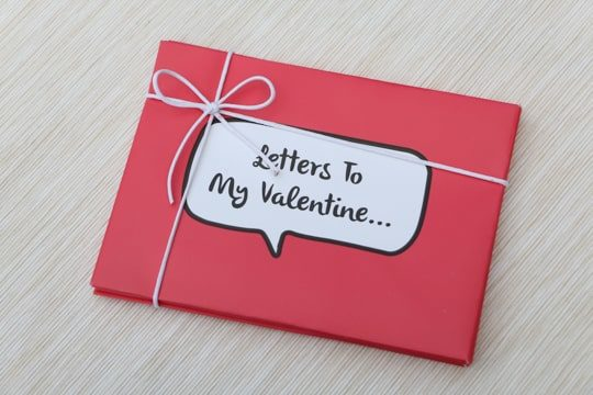 Letters to my valentine