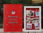 Unique valentine's day gift customised with photos