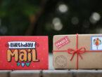 Birthday mail hamper gift for friend