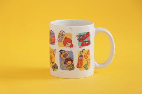 custom nostalgia mug