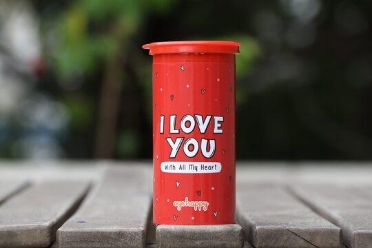 Best Heart Glitter bomb - I Love You