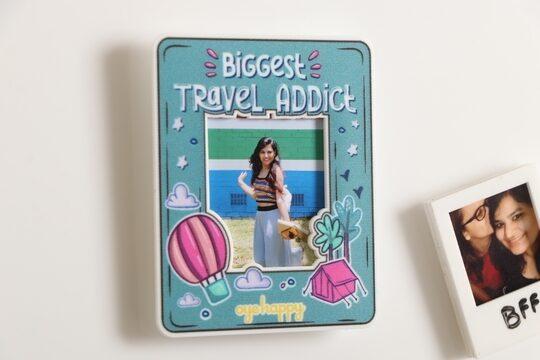 Travel Addict Magnet