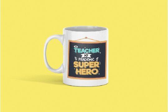 Superhero Teacher Mug